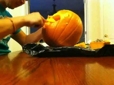 Superman Pumpkin Carving Youtube