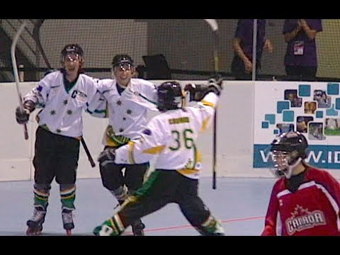 2014 FIRS Senior Women Australia vs Canada