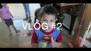 Waiting to go to the park  How Two Year Olds Handle Time-Out  Family Vlog 2