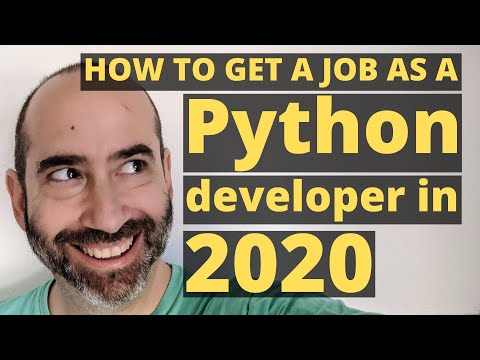 How to get a job as a Python developer in 2020