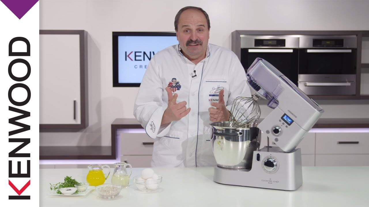 Kenwood Cooking Chef Kuchenmaschine Produkt Video Youtube