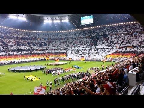 Deutschland - Österreich 3:0, WM-Quali 2014, Part 3/5, Choreo, Lahm und Ballack Ehrung, 06.09.2013