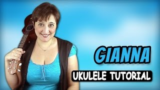 Rino Gaetano - Gianna Ukulele Tutorial