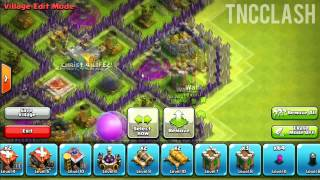 Clash Of Clans: Best Town Hall 8 Farming Base Design [ SPEED BUILD ]