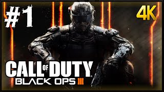 Call of Duty Black Ops 3 Walkthrough Part 1 PC 4K 60fps Gameplay 2160p