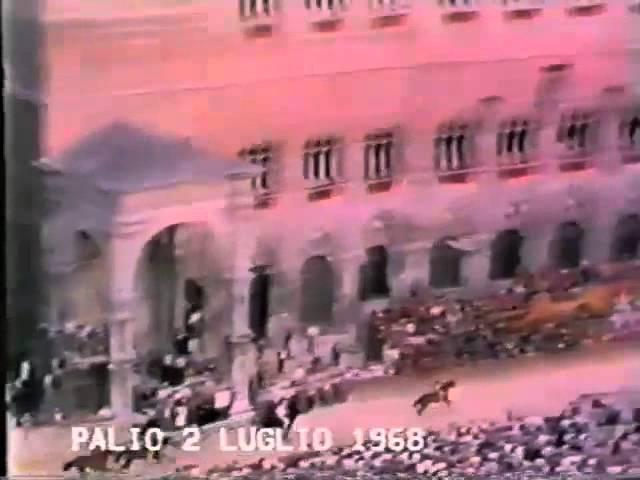 Palio 2 luglio 1968