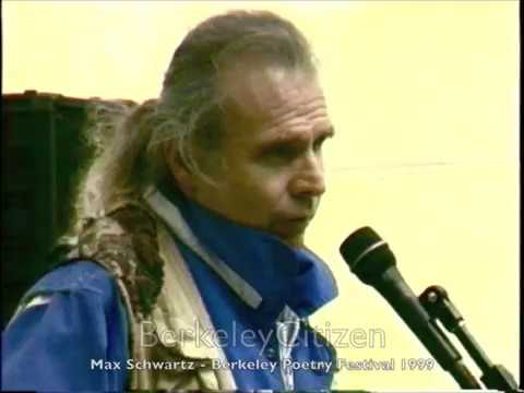 Max Schwartz - Berkeley Poetry Festival1999