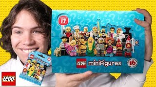 opening-60-lego-minifigure-mystery-blind-bags-series-17