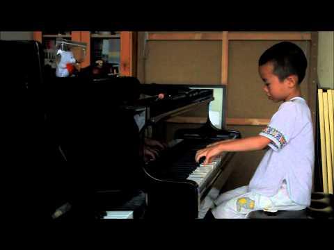 Huang Tiange Plays Bartok Mikrokosmos Vol. 4 No. 113