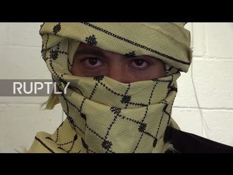 Lebanon: See the Kevlar keffiyeh that stops bullets