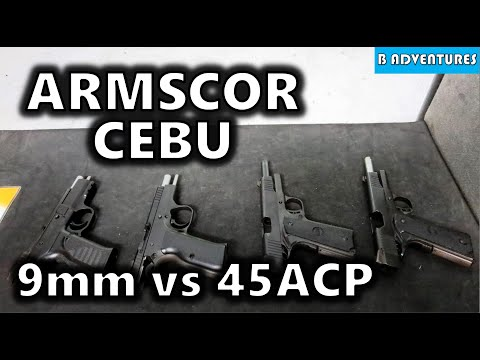 Armscor Guns Cebu: 1911 & MAP1 (CZ 75), Philippines S3, Vlog #110