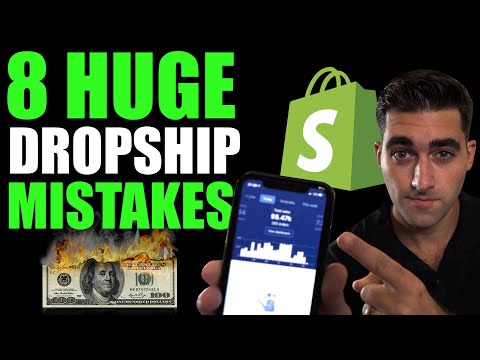 8 Things To Do When Dropshipping (AVOID These Mistakes) thumbnail
