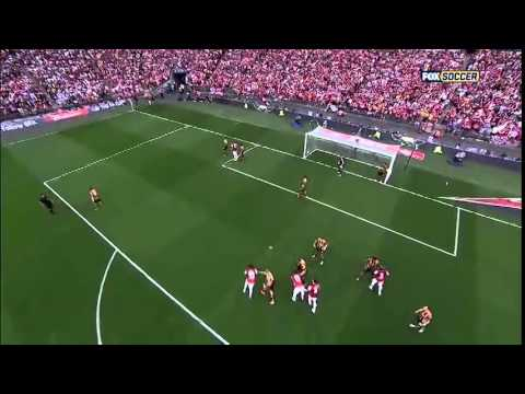 The FA Cup Final Hull City 2 3 Arsenal 17 05 2014 All Goals Highlights