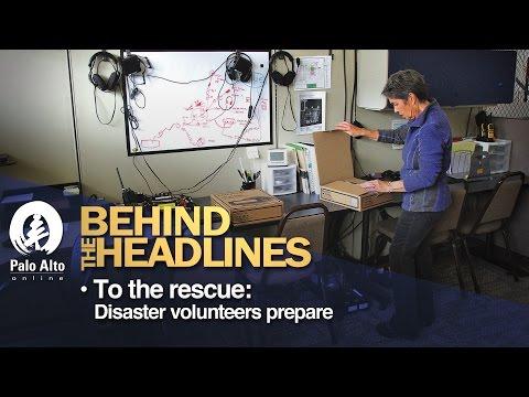Behind The Headlines - To the rescue: Disaster volunteers prepare