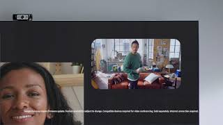 Work easily with Google Duo on the Samsung Neo QLED TV | Samsung