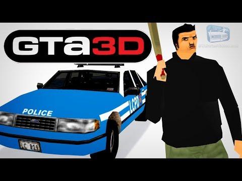 GTA 3 Beta Gameplay (GTA3D Mod)