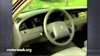 MotorWeek | Retro Review: 1998 Lincoln Town Car