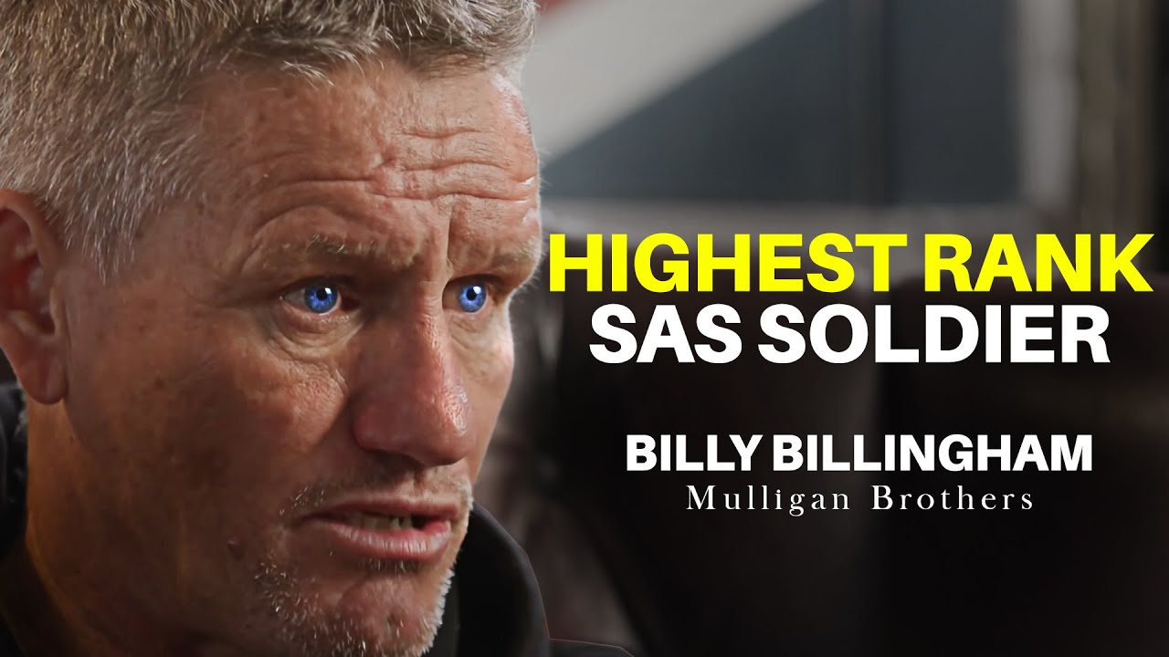 """Mark """"Billy"""" Billingham - Full Interview with the Mulligan Brothers"""