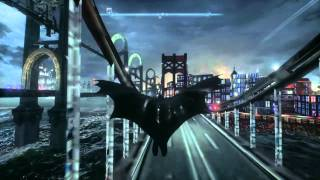 Batman Arkham Knight Out of map exploration glitch