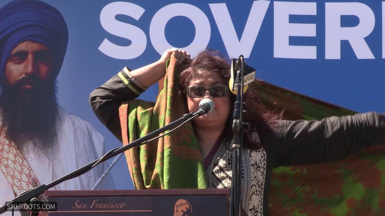 Huma Dar @ Sikh Rally, San Francisco - June 11, 2017