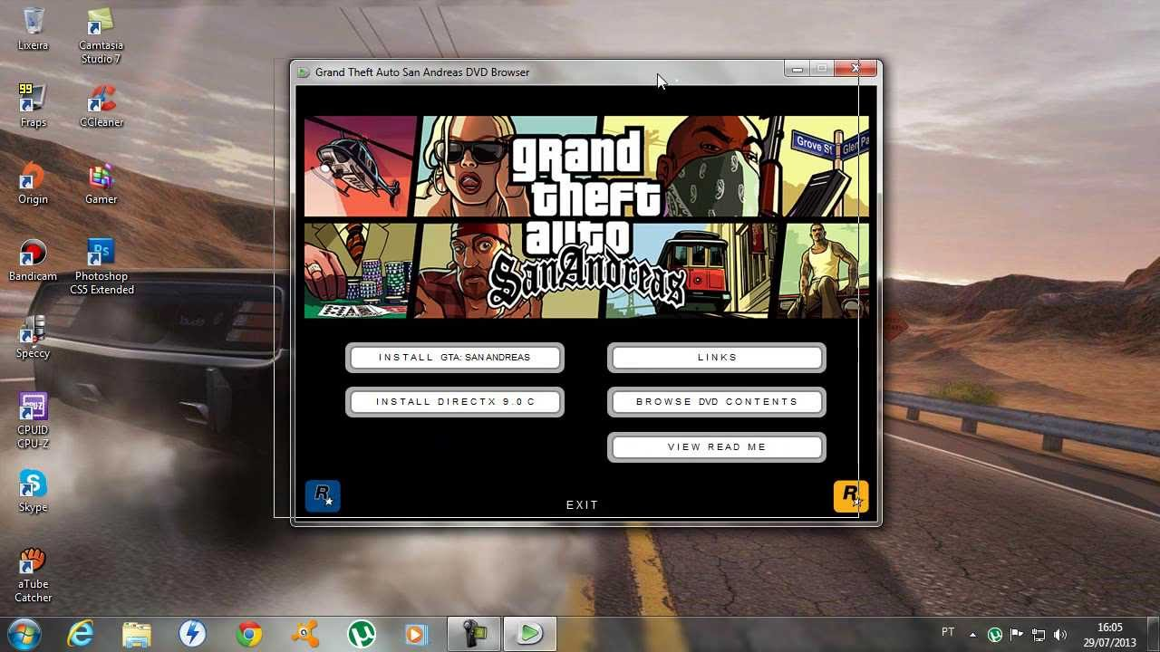gta san andreas pc download full game crack