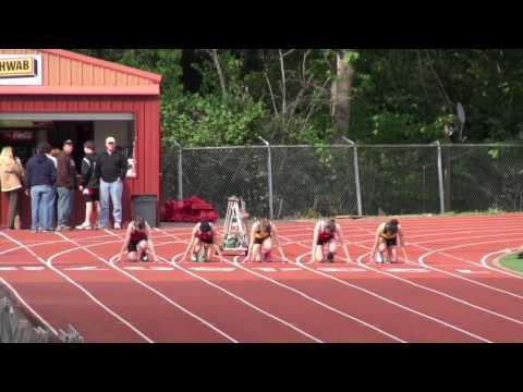 OCHS vs Rex Putnam Girls 100m