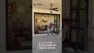 Bi-Folding Door Unit.