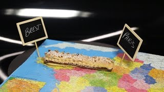 Paris-brest Sur Carte Par Christophe Michalak (#dpdc)
