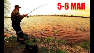 Рыбалка с Ночёвкой в Штормовую Погоду КАРАСЬ МОЕЙ МЕЧТЫ ВСЕХ С ПРАЗДНИКОМ ВЕЛИКОЙ ПОБЕДЫ