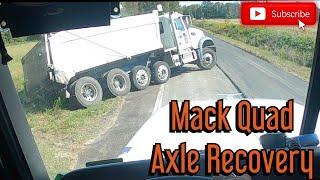 Mack Quad Axle Recovery
