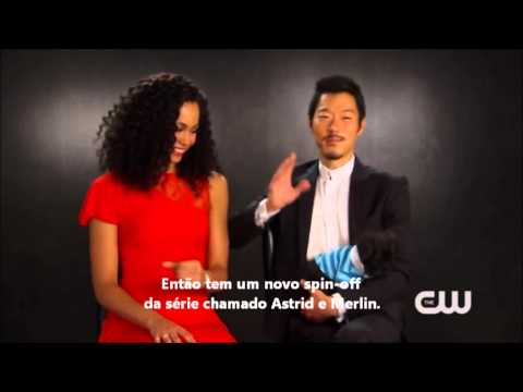 The Tomorrow People  Madeleine Mantock e Aaron Yoo  Legendado