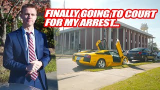 GOING TO COURT FOR RUNNING FROM THE COPS! *Facing Jail Time*