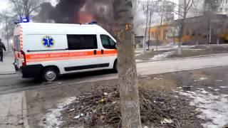 War in Ukraine Война на Донбассе ОБСТРЕЛ из Града! Мариуполь │ Первые кадры