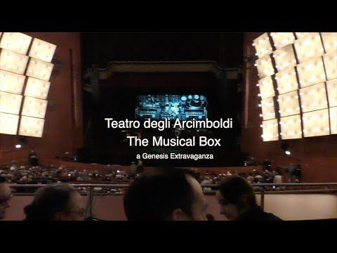 Teatro degli Arcimboldi -The Musical Box - a Genesis Extravaganza - Clip HQ  31-10-2018