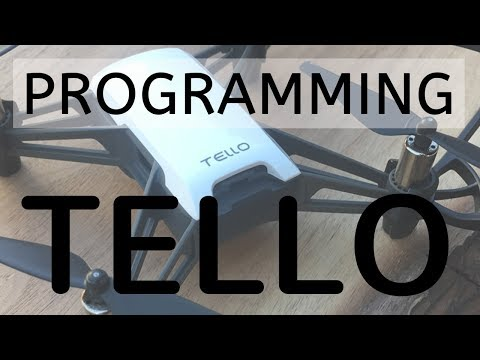 Ryze Tello Programming using DroneBlocks