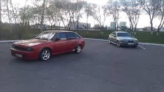 BMW E39 vs Москвич 2141 F3R