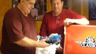 "The Blue Comet Train Set from the ""Sopranos"" TV Show"