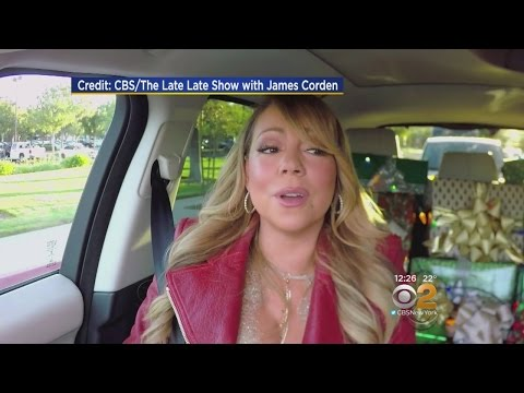Corden's 'All I Want For Christmas' Carpool Karaoke
