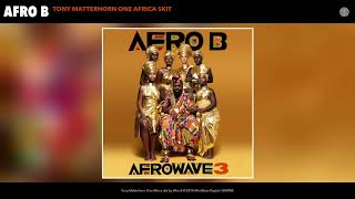 Afro B - Tony Matterhorn One Africa skit (Audio)