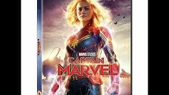 Opening To Captain Marvel 2019 DVD