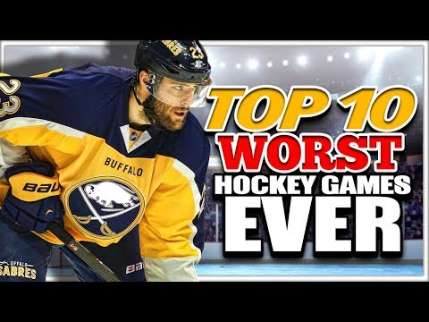 Top 10 WORST Hockey Video Games Ever