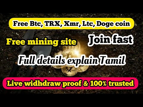 Btc, Doge, Bch, TRX, Ltc Coin Free Mining Site 😱 Join \u0026 Earn Free Crypto Currency Coin Unlimited