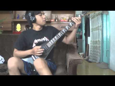 Metallica - Enter Sandman ( Guitar cover with solo )