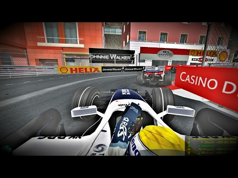 rFactor - F1 2008 Monaco GP [raw unedited gameplay]