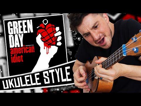 Green Day Ukulele Style! - American Idiot ( Full Album Cover )