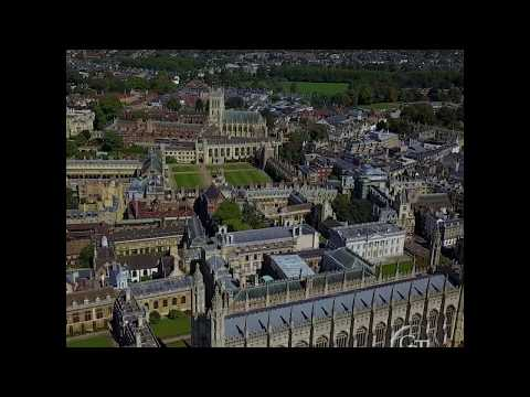 Cambridge Backs from the air