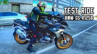 Sobrang mahal ng motor na to unexpected test ride ng BMW GS R1250