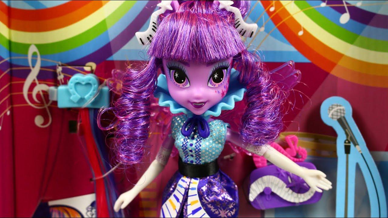 Twilight Sparkle Rockin Hairstyle Doll Stylowa Fryzura Twilight - Rockin hairstyles dolls