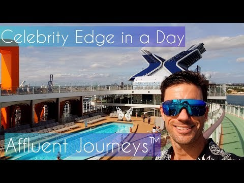 Celebrity Edge in a Day Cruise Vlog