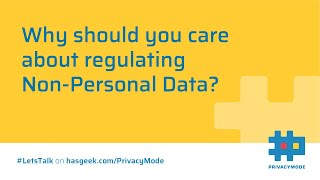 What is Non-Personal Data?